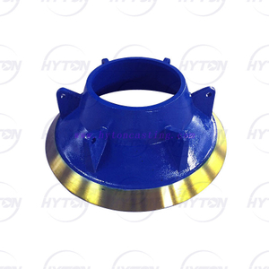 Mn18Cr2 Mantle Concave Suit Trio TP260 Cone Crusher Spare Parts