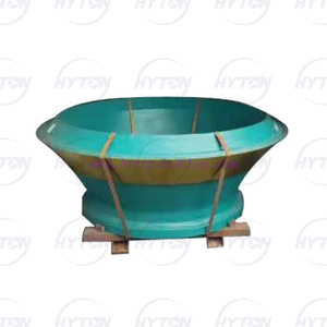 Manganese Concave Bowl Liner Suit Metso Nordberg hp800 Cone Crusher Wear Parts