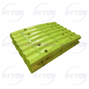Manganese Movable Fixed Jaw Plate Suit Telsmith H2250 Jaw Crusher Spare Parts