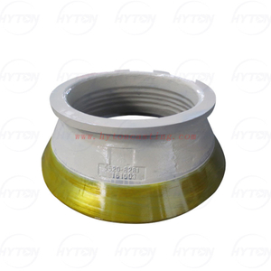 Manganese Wear Casting Parts Suit for Metso Nordberg Cone Crusher HP300 Crusher Wear Parts