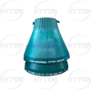 Manganese Mantle Concave Suit Metso Nordberg GP300S Cone Crusher Spare Parts