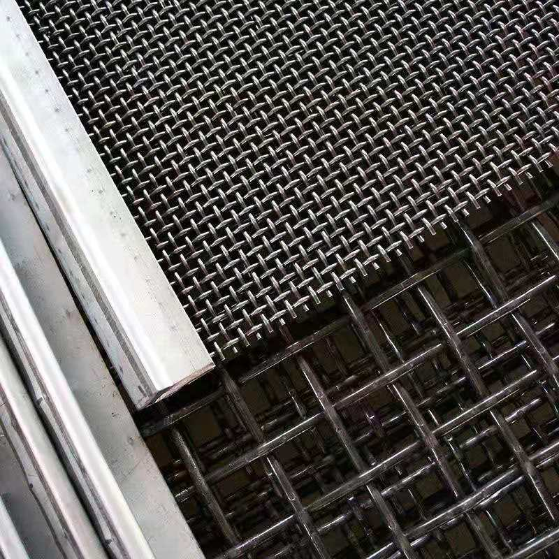 high manganese crusher wire screen mesh