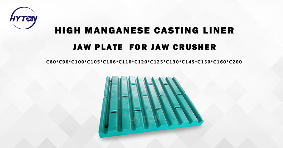 Hyton supply the customized service for high manganese jaw crusher casting jaw plate production